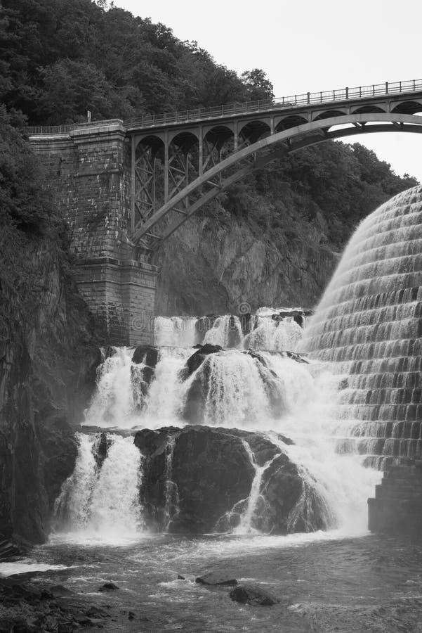 Nouveau barrage de Croton, dans le comté de Westchester, New York photos libres de droits