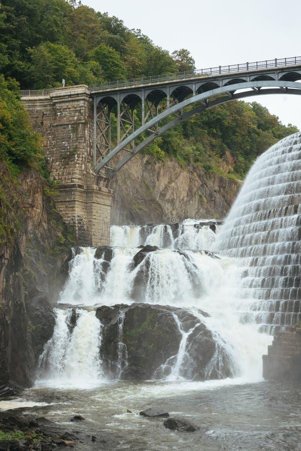 Nouveau barrage de Croton, dans le comt? de Westchester, New York image stock