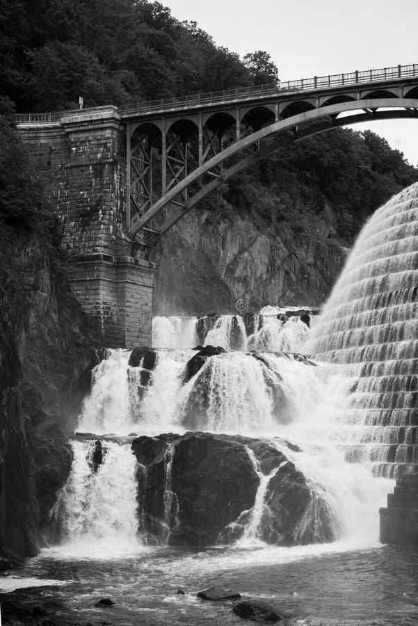 Nouveau barrage de Croton, dans le comt? de Westchester, New York photographie stock libre de droits