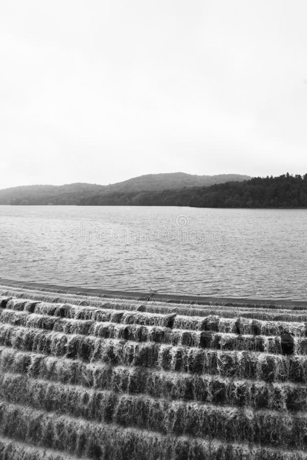 Nouveau barrage de Croton, dans le comt? de Westchester, New York photo libre de droits
