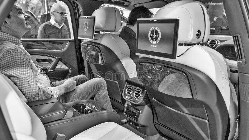 Nouveau Bentley Mulsanne images libres de droits