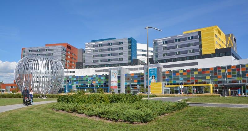 Nouveau centre médico-social d'université de McGill image stock