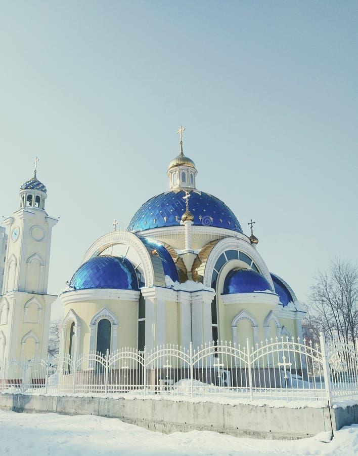 Nouveau Christian Church orthodoxe photographie stock