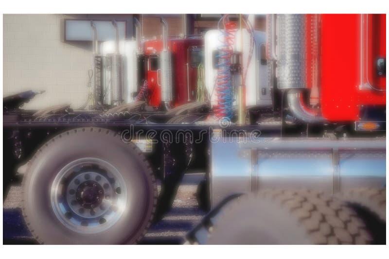 Nouveau concessionnaire de camion photos libres de droits