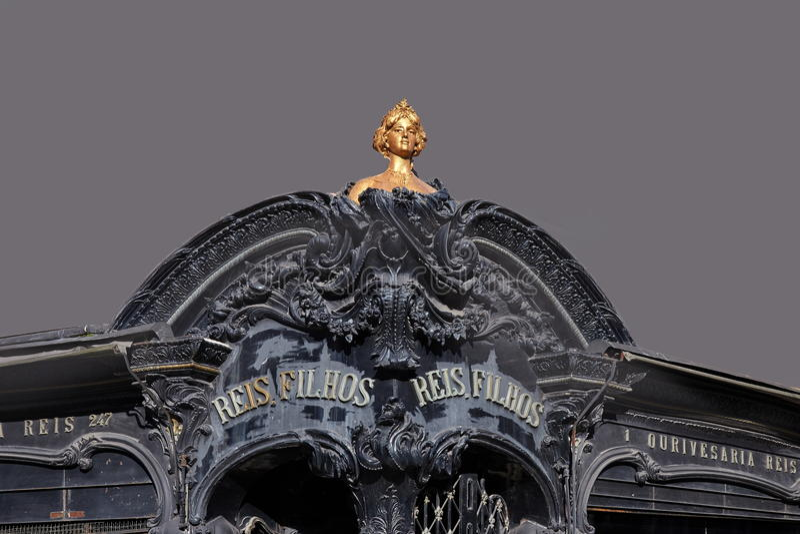 Nouveau da arte foto de stock royalty free