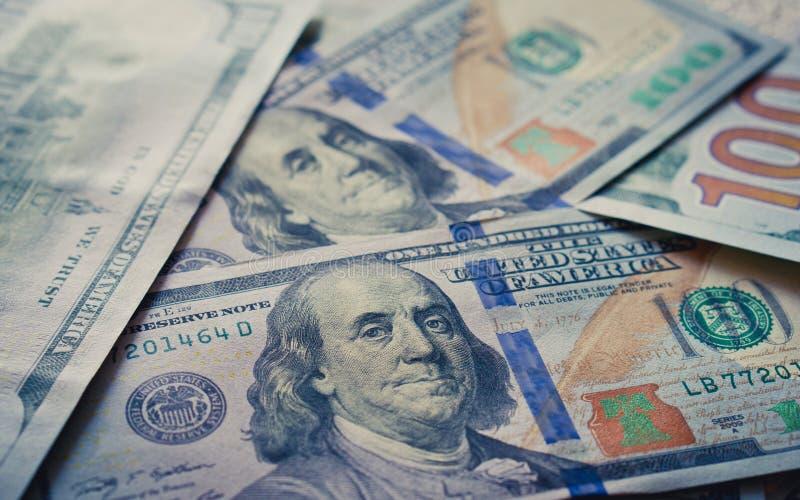 Nouveau fond du dollar image stock