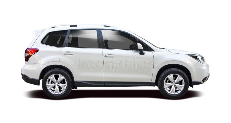 Nouveau forestier SUV de Subaru image stock