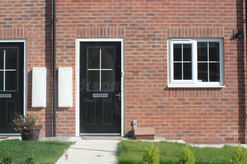 Nouveau logement BRITANNIQUE photos libres de droits