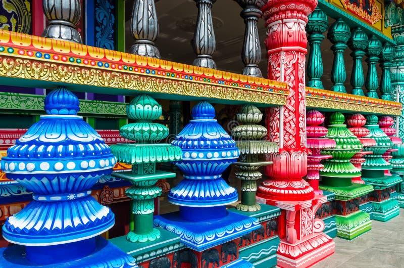 Nouveau look du temple coloré aux cavernes temple, Kuala Lumpur Malaysia de Batu photographie stock