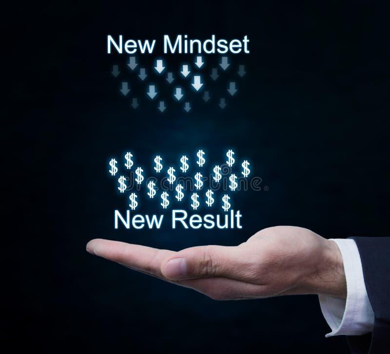 Nouveau mentalité-nouveau résultat photos libres de droits