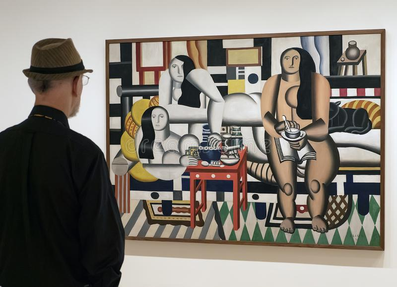 Nouveau MOMA à Manhattan photographie stock