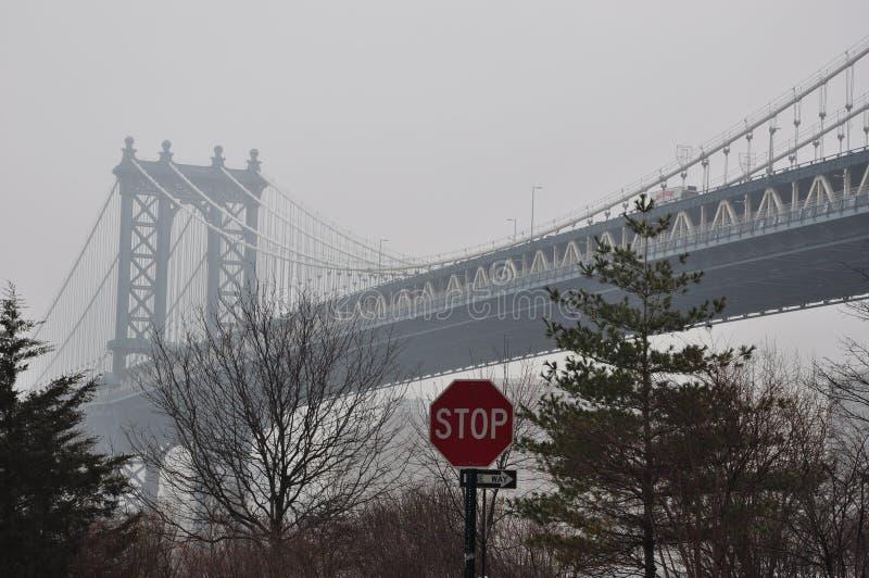 Nouveau pont de Jork Manhattan photos libres de droits