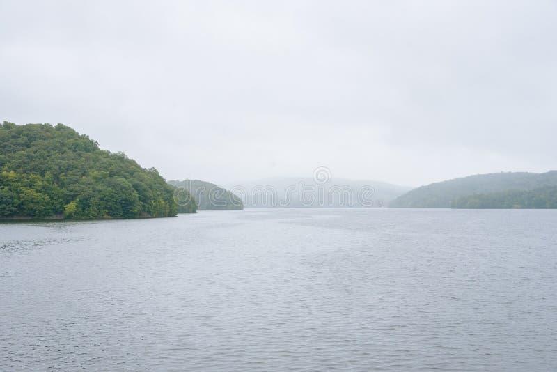 Nouveau réservoir de Croton, dans le comté de Westchester, New York photo libre de droits