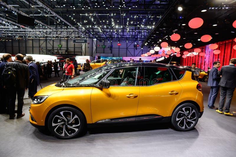 Nouveau Renault Scenic photographie stock