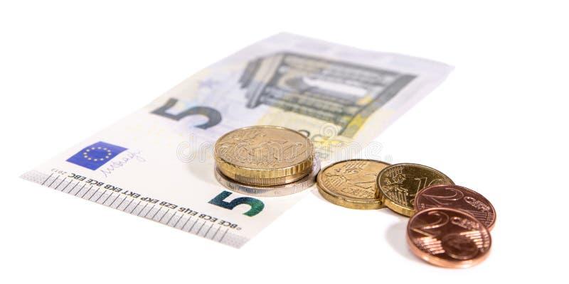 Nouveau salaire minimum en Allemagne, euro salaire 8,84 horaire photographie stock libre de droits