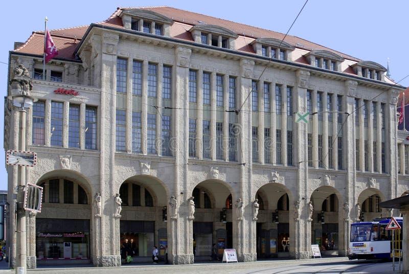 Nouveau wydziałowy sklep Goerlitz w Saxony obraz stock