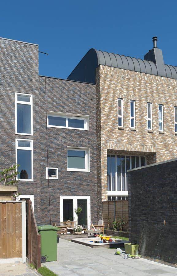 Nouveaux logements modernes photographie stock