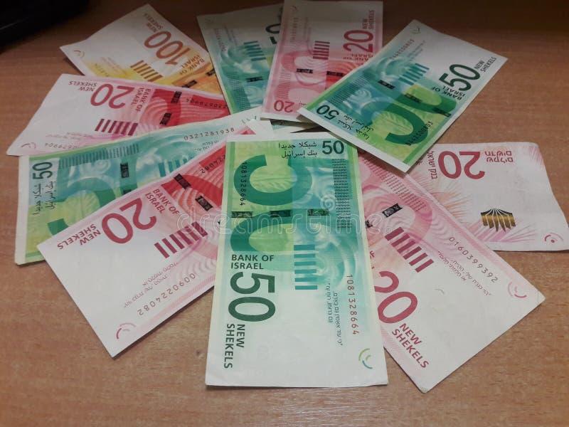 Nouveaux shekels isra?liens photo stock