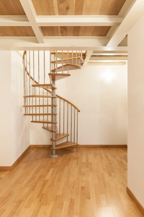 Nouvel appartement intérieur photographie stock