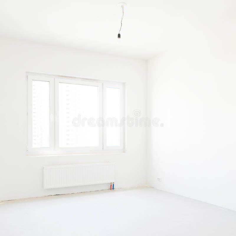 Nouvel appartement vide photo libre de droits