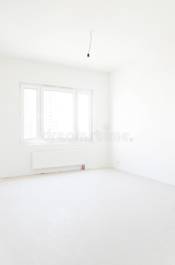 Nouvel appartement vide image stock