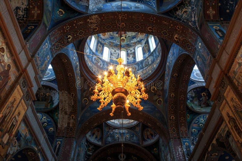 Nouvel intérieur d'Athos, la beauté de l'architecture images libres de droits