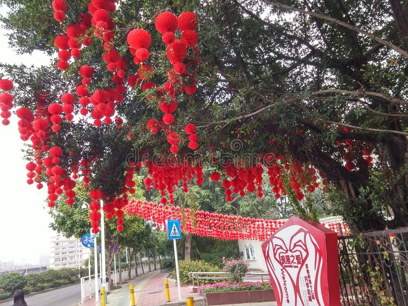 Nouvelle année Chine image stock