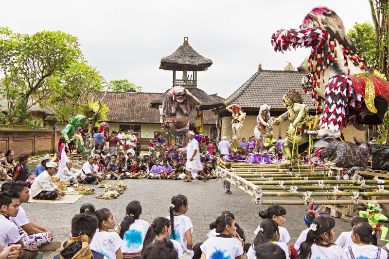Nouvelle année de Balinese photographie stock