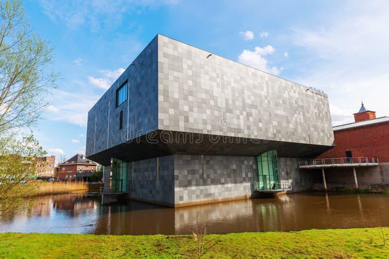 Nouvelle extension de Van Abbemuseum à Eindhoven photos stock