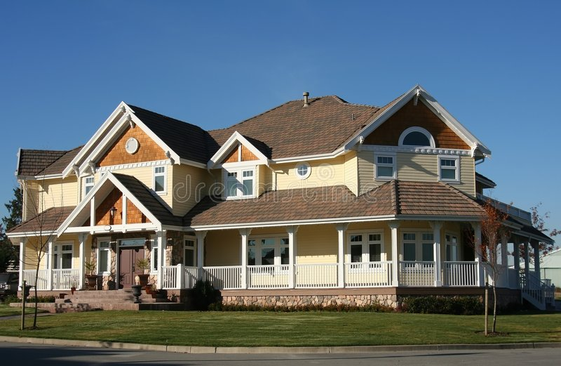 Nouvelle maison. photo stock