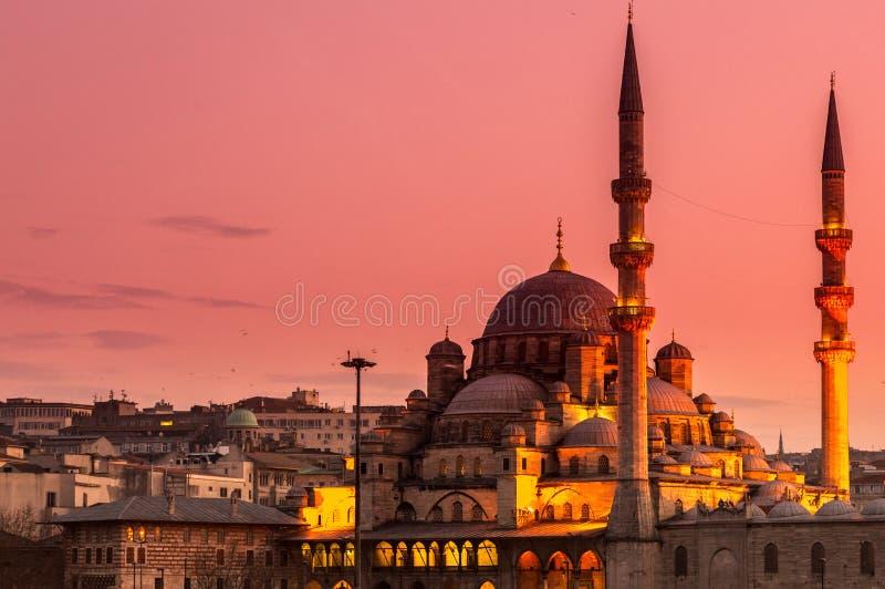 Nouvelle mosquée Istanbul photo libre de droits
