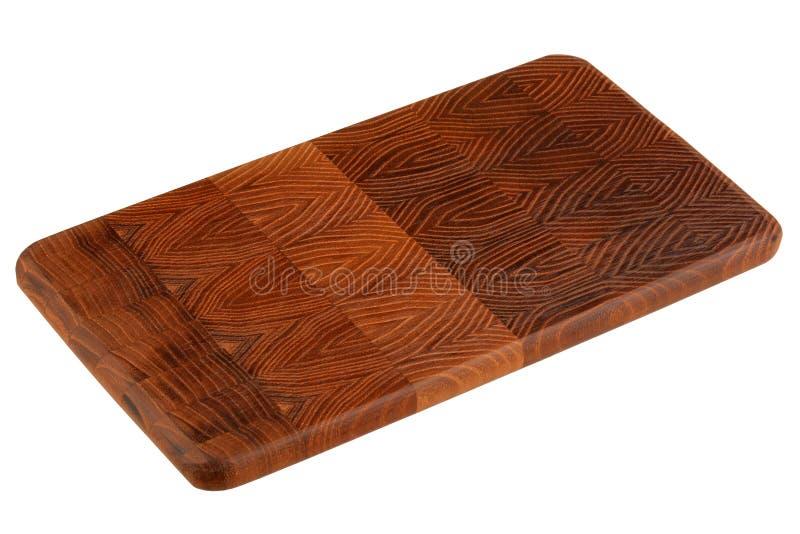 Nouvelle planche à découper en bois rectangulaire photos stock