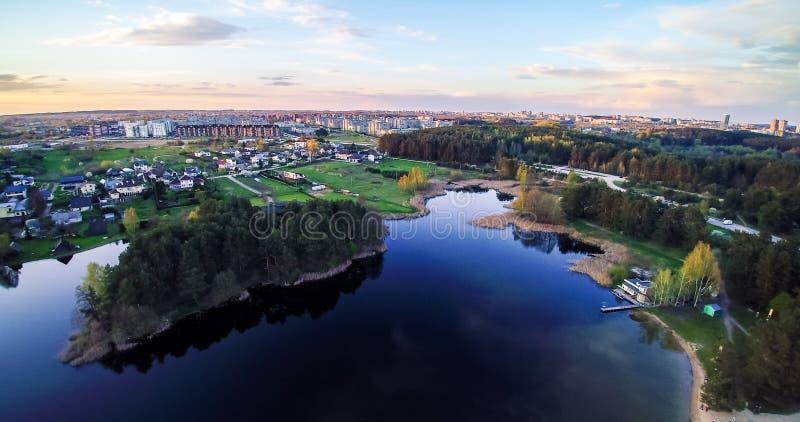 Nouvelle région à Vilnius image libre de droits