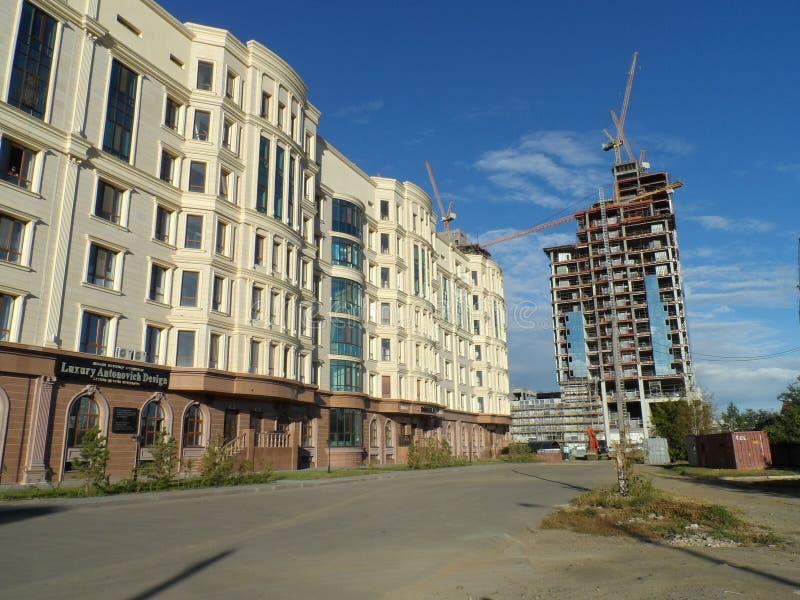 Download Nouvelle Ville - Constructions Photo éditorial - Image du beau, centres: 77151231