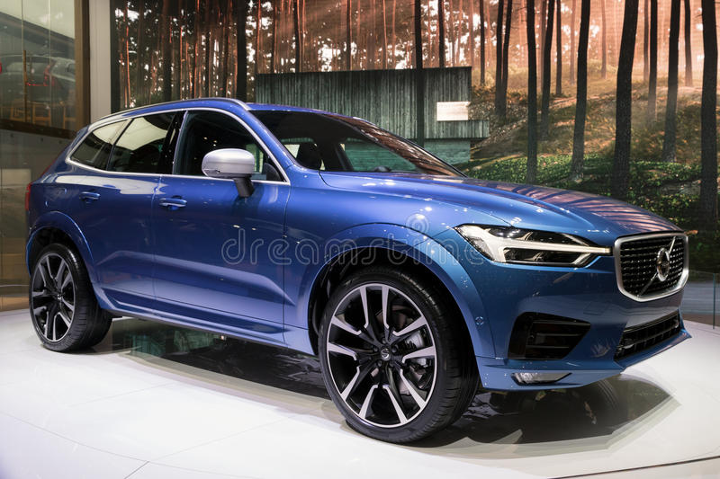 Nouvelle voiture 2018 de Volvo XC60 SUV photo stock