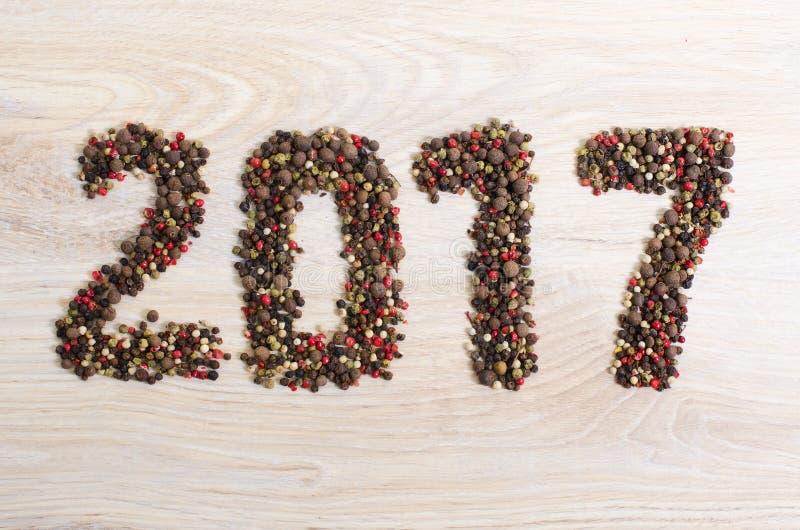 2017 nouvelles années image libre de droits
