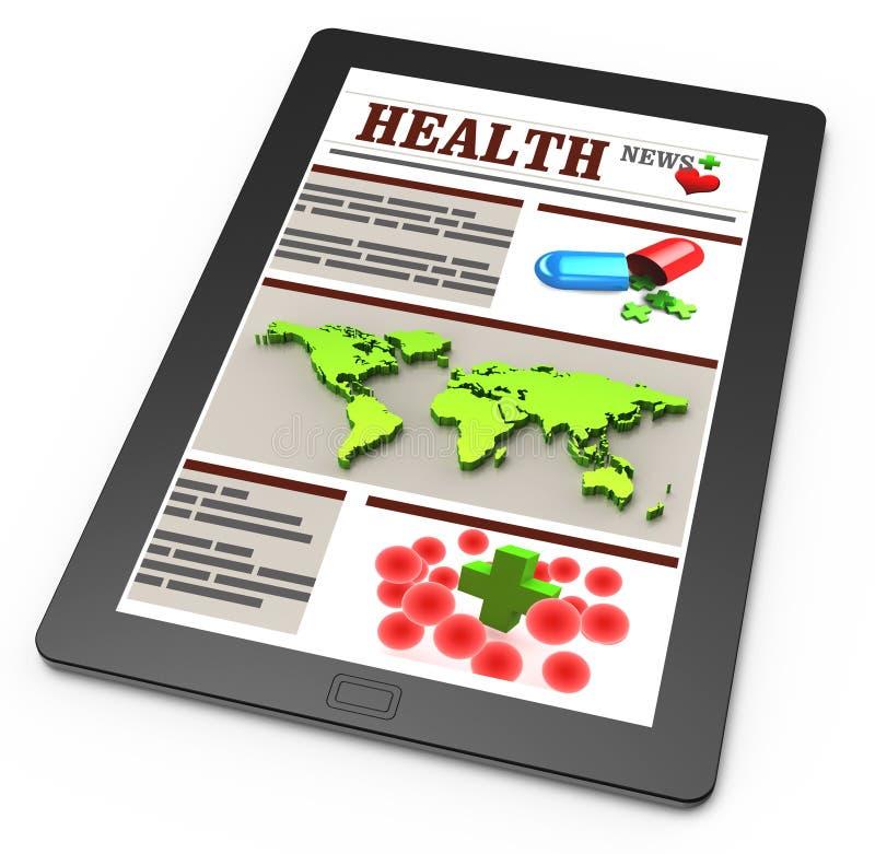 Nouvelles de pharmacie illustration de vecteur
