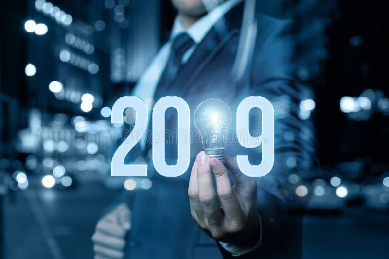 2019 nouvelles idées d'affaires photo libre de droits