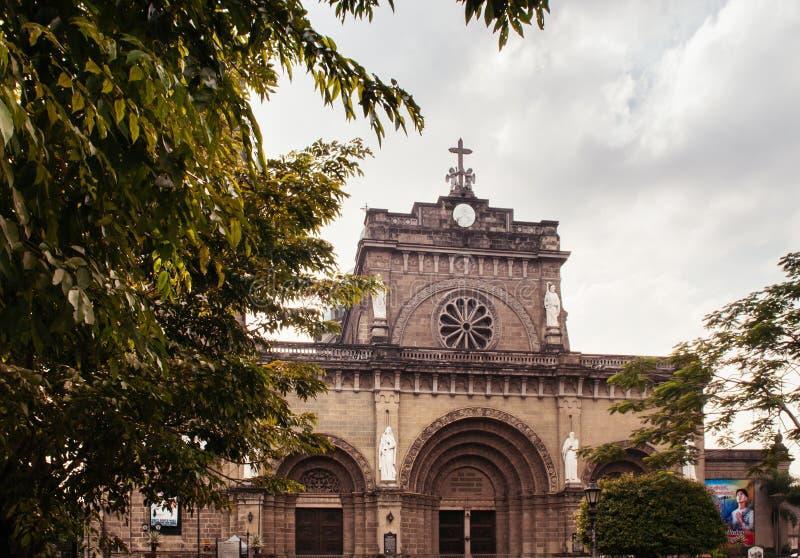 Manila Metropolitan Cathedral-Basilica, Manila, Philippines royalty free stock image