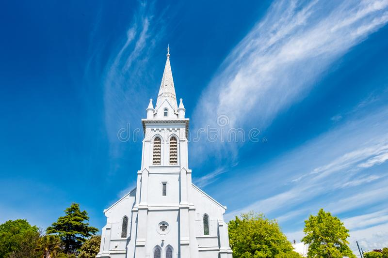 2018 Nov 2nd, New Zealand, Timaru, View of old building in the town stock image