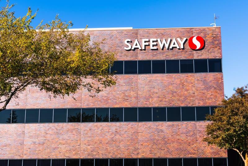 Nov 15, 2019 Pleasanton / CA / USA - Safeway Northern California Division corporate headquarters in San Francisco bay area;. Safeway is an American supermarket royalty free stock photo