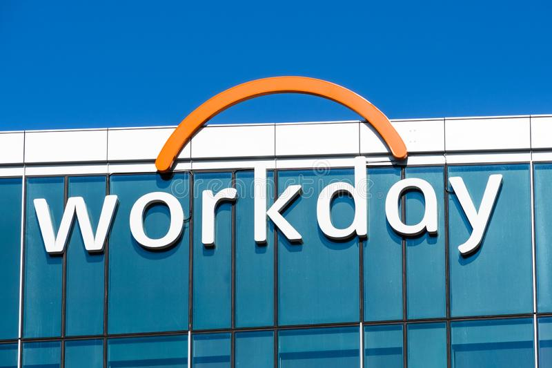 Nov 15, 2019 Pleasanton / CA / USA - Workday headquarters in Silicon Valley; Workday, Inc. is an on‑demand cloud-based. Financial management and human stock photos