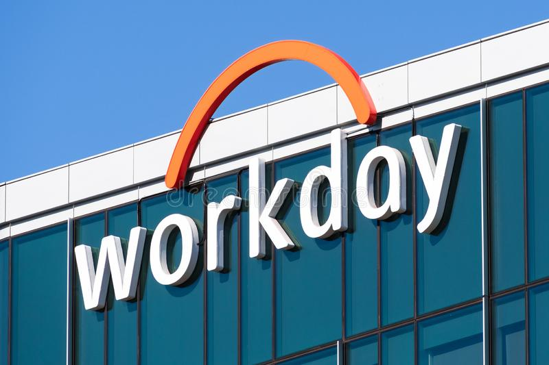 Nov 15, 2019 Pleasanton / CA / USA - Workday headquarters in Silicon Valley; Workday, Inc. is an on‑demand cloud-based. Financial management and human royalty free stock photo