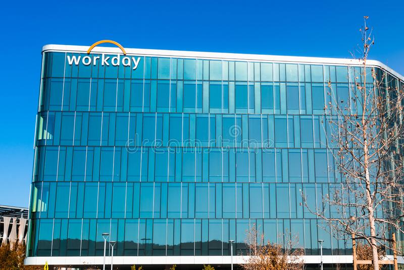 Nov 15, 2019 Pleasanton / CA / USA - Workday headquarters in Silicon Valley; Workday, Inc. is an on‑demand cloud-based. Financial management and human stock photo