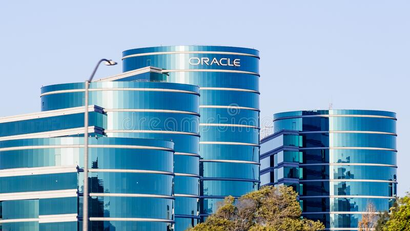 Nov 23, 2019 Redwood City / CA / USA -  Oracle corporate headquarters in Silicon Valley; Oracle Corporation is a multinational. Computer technology company royalty free stock image