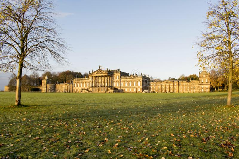 Nov. 2017 van Wentworth Woodhouse Stately Home zeventiende royalty-vrije stock foto's