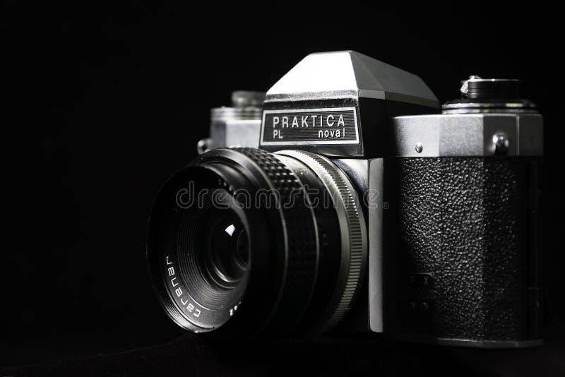Nova της PL Praktika 1 εκλεκτής ποιότητας κάμερα FX στοκ φωτογραφία
