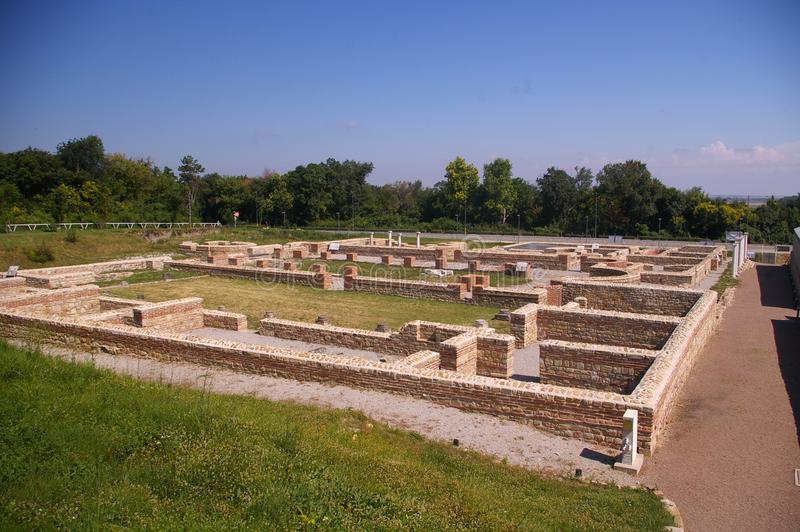 Nova della città antica - Svishtov immagine stock libera da diritti