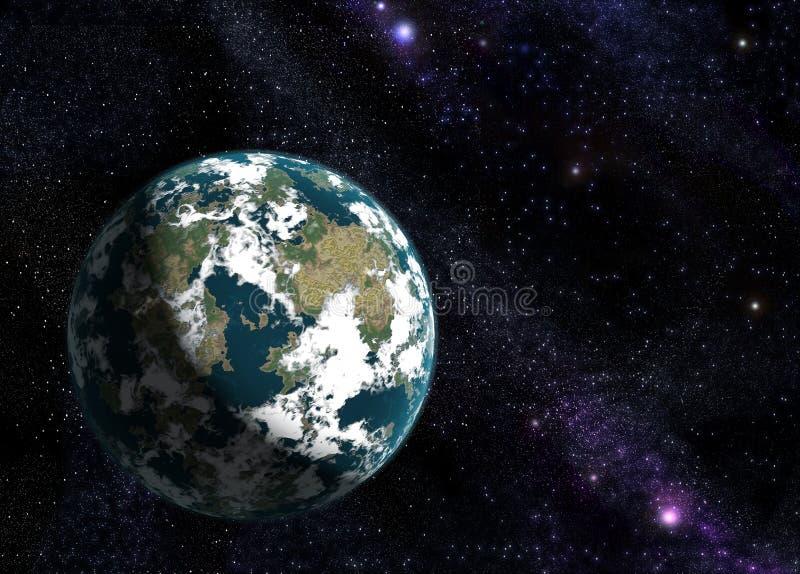Terra nova fotografie stock