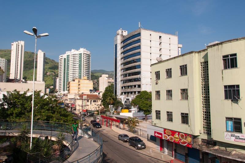 Nova Iguacu City Center Urban-Scène stock fotografie